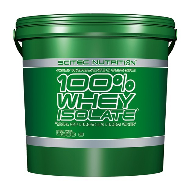 100% WHEY ISOLATE – 4000g Scitec