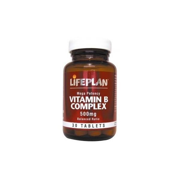 VITAMIN B COMPLEX - Complexo Vitamina B - 30 comprimidos de 500mg