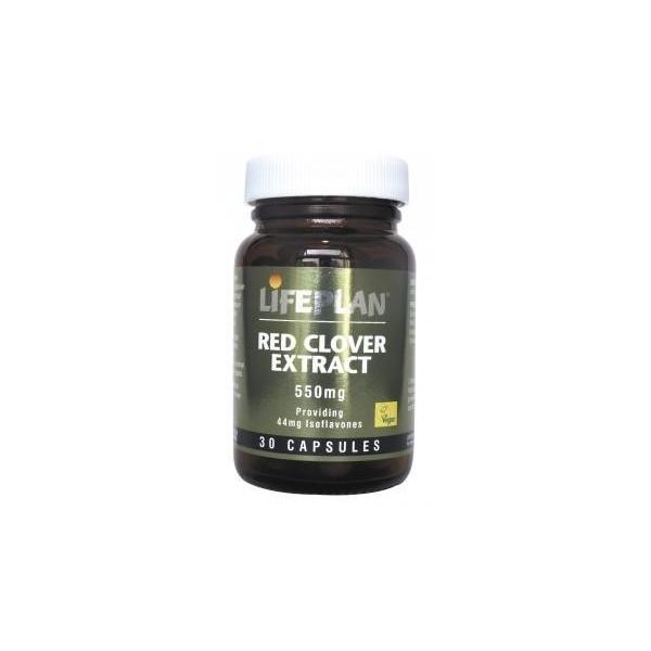 RED CLOVER EXTRACT – TREVO VERMELHO - 30 Cápsulas de 550 mg