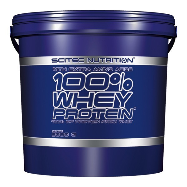 100% WHEY PROTEIN 5000g – Scitec