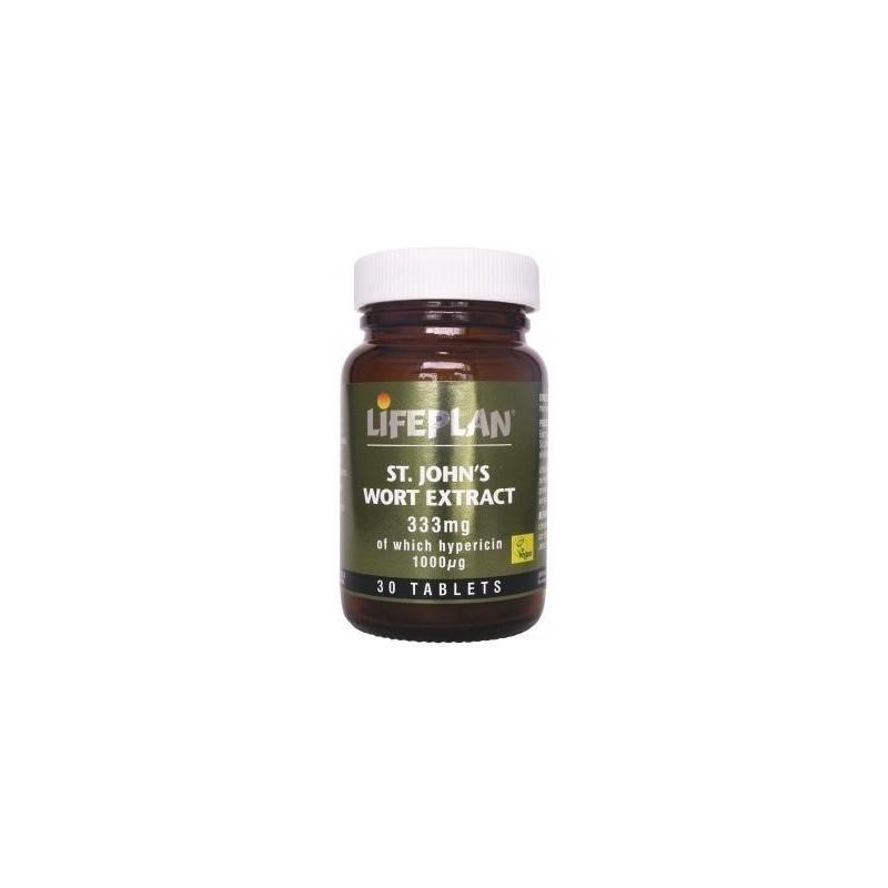 ST. JOHNS WORTH EXTRACT – EXTRACTO DE HIPERICÃO - 30 Comprimidos de 330 mg