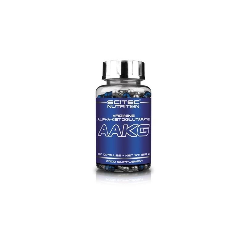 AAKG 100 cápsulas - Arginina alfa-ketaglutarato