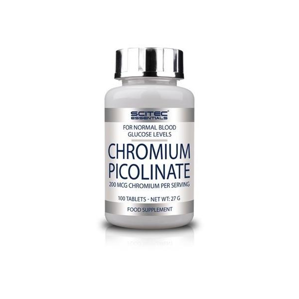 CHROMIUM PICOLINATE - crómio - 100 comprimidos