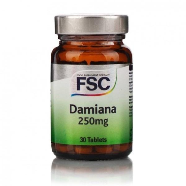 DAMIANA - Turnera Diffusa - 30 comprimidos 250mg