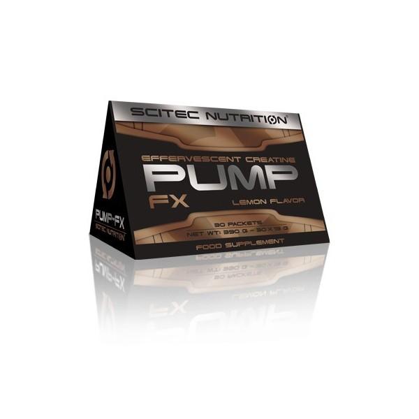 PUMP-FX 30 saquetas sabor Limão