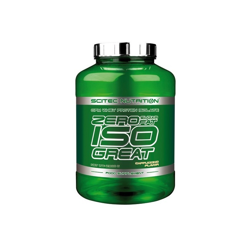 ZERO SUGAR/ZERO FAT ISOGREAT 2300g