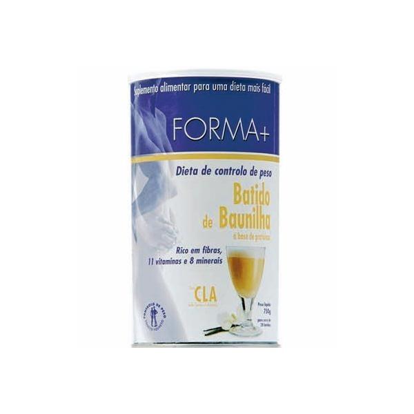 Batido de Baunilha c/Café Verde - Forma +