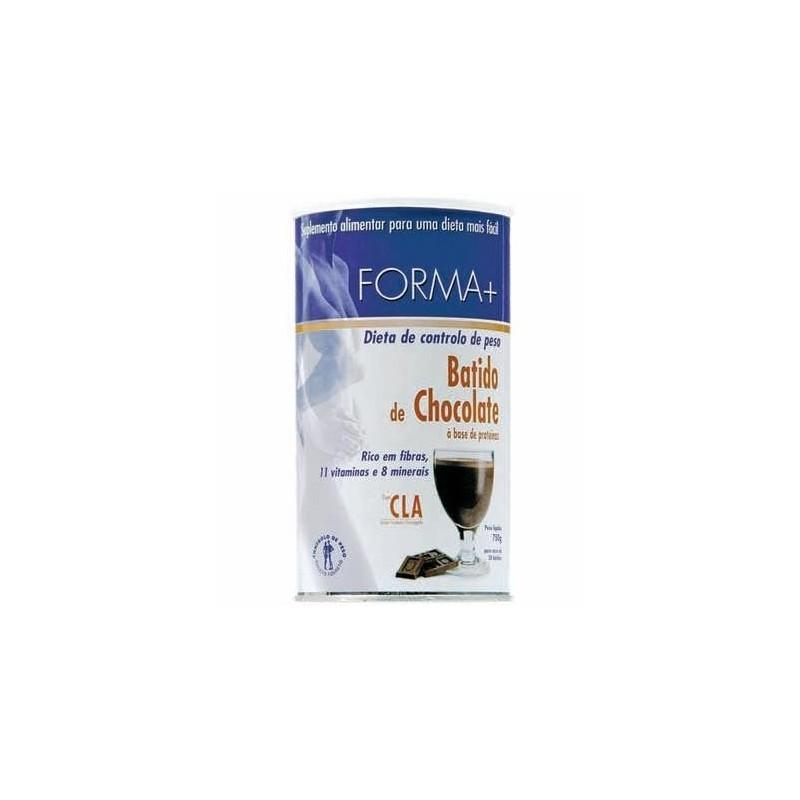 Batido de Chocolate c/Café Verde - Forma +