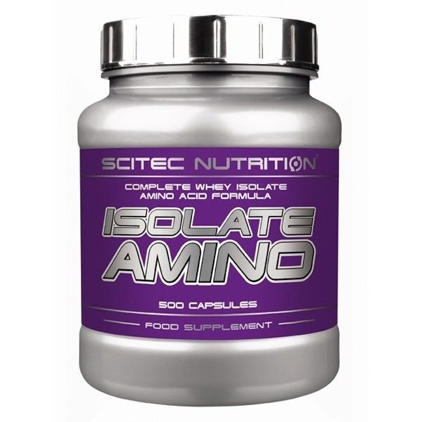 ISOLATE AMINO 500cáps