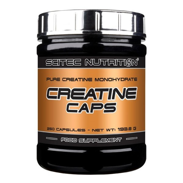 CREATINE CAPS - 250 cáps