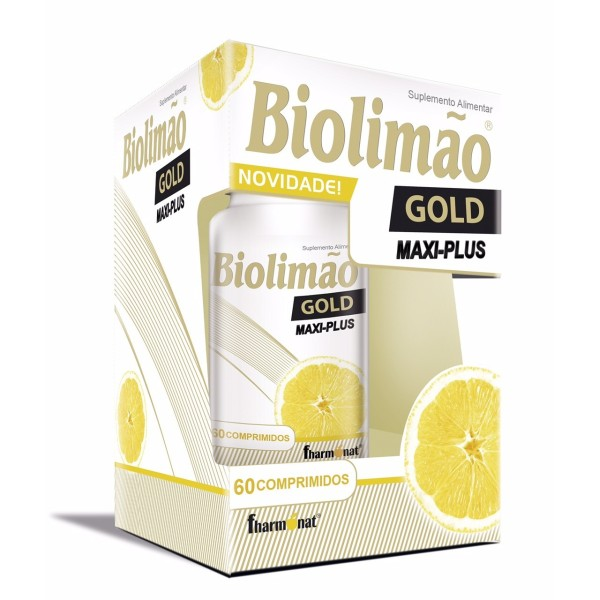 Biolimão Gold Maxi-Plus - Low Cost - 60 comprimidos