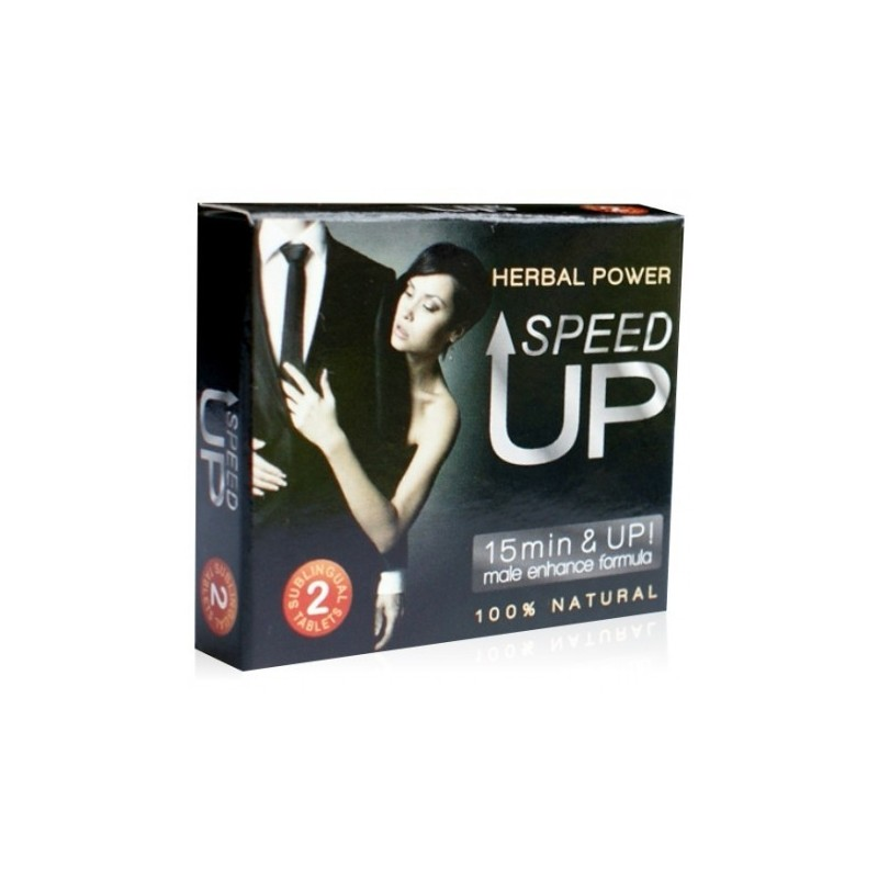 Speed UP - 2 Cápsulas - Potenciador Sexual Masculino